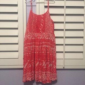 Kids Mudd Red and White Summer Dress